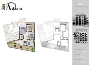apartment for sale Sannat, 115 ㎡, bedrooms: 3, new development