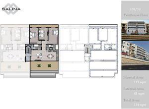 apartment for sale Naxxar Salina, 113 ㎡, bedrooms: 3