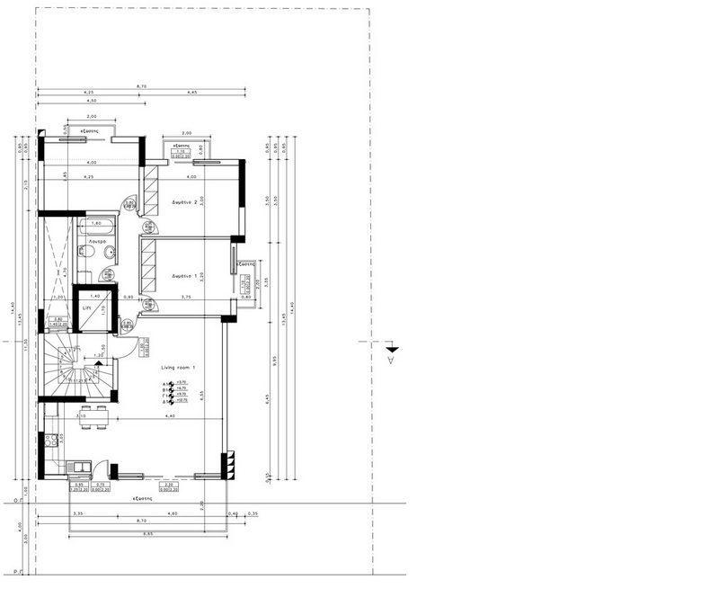 apartment zu verkaufen alimos. Black Bedroom Furniture Sets. Home Design Ideas