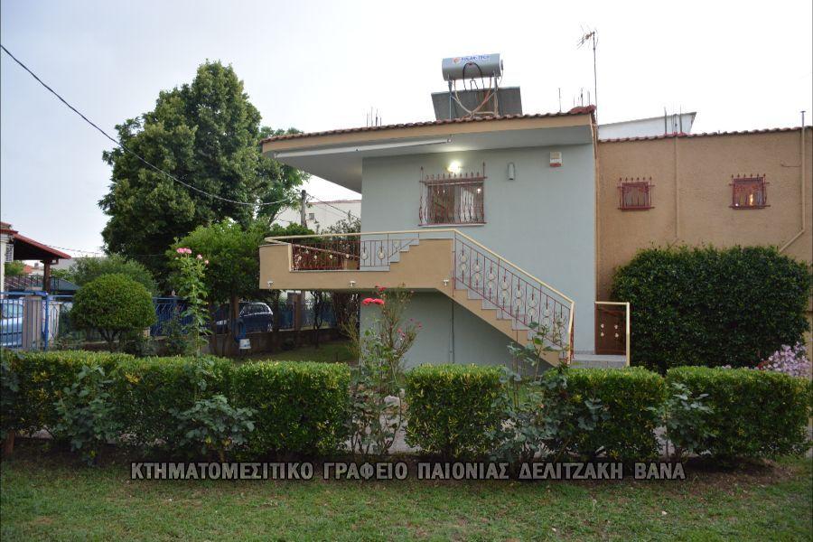 Μονοκατοικία προς πώληση Κέντρο (Αξιούπολη) 135 τ.μ. Ισόγειο 3 Υπνοδωμάτια Νεόδμητο